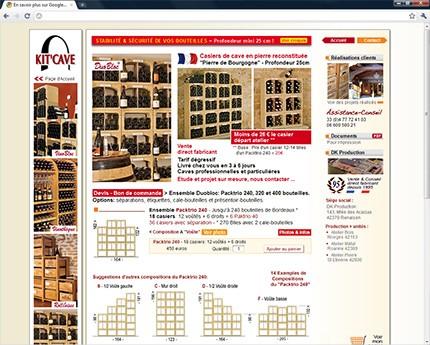 cave vin annuaire des r f rences clients mc c. Black Bedroom Furniture Sets. Home Design Ideas