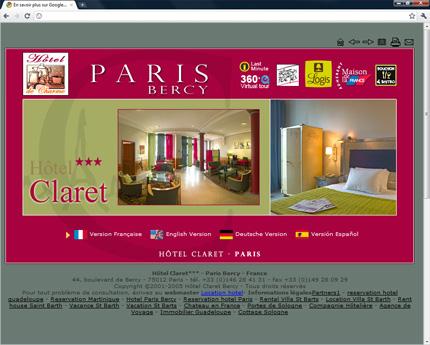 Hôtel Claret Paris