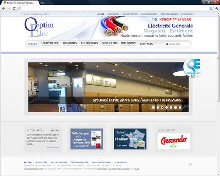 Optimelec - Electricité générale grands magasins et bâtiments