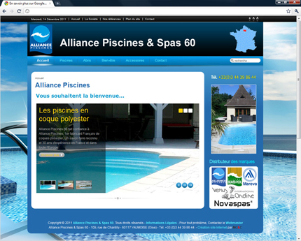 Alliance Piscines et Spas 60