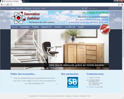 Innovation Intérieur le spécialiste de l'accessibilité à domicile et en lieu public