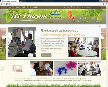 Résidence les Thuyas