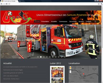 Union Départementale des Sapeurs-Pompiers de la Loire