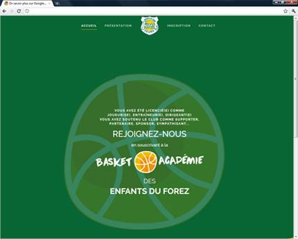 Basket Académie des EFF