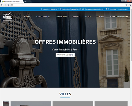 Agence Cimm Immobilier Feurs