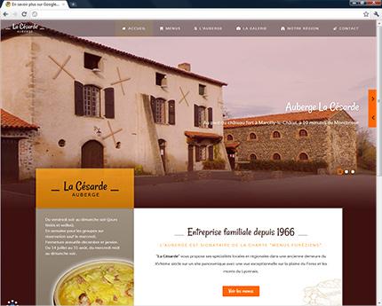Auberge Restaurant La Césarde