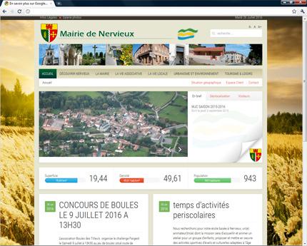 Mairie de Nervieux