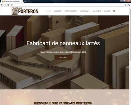 Panneaux Porteron fabricant de panneaux lattés en bois