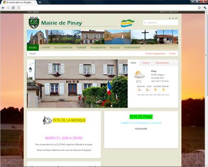 Mairie de Pinay