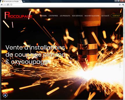 Procoupage - Installation de coupage plasma et oxycoupage