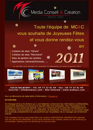 Exemple d'e-mailing